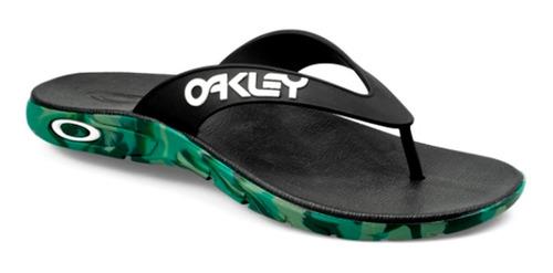 Imagem 1 de 4 de Chinelo Oakley Rest Mark Ii Camo Jet Black