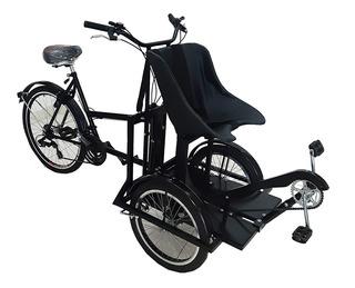 Bicicleta Tandem Para Rehabilitacion - Discapacidad