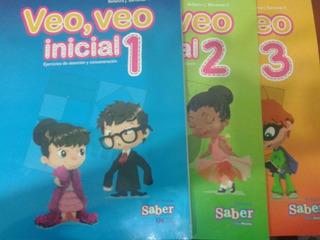 Veo Veo Inicial 2 Y 3 Editorial Saber