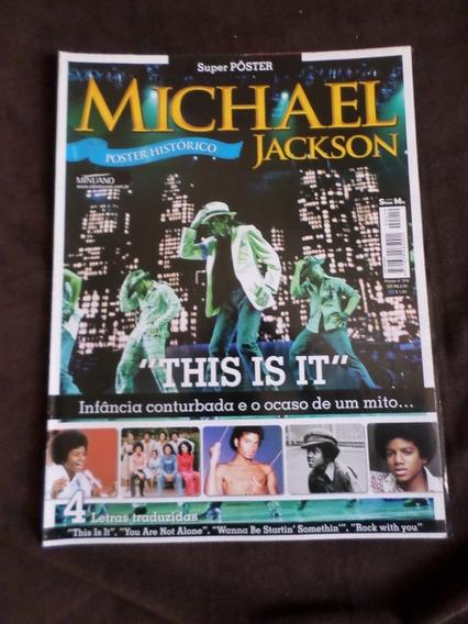 Revista Poster Michael Jackson
