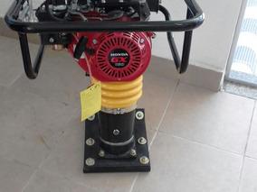 Compactador Tipo Sapo Honda Gx160 5.5cv Novo Black Friday!!!