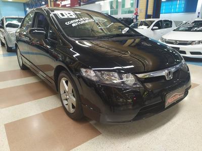 Civic Lxs 1.8 Flex Automatico Completo 93.000km