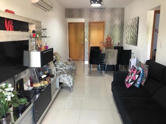 Apartamento 91 M2, Com Varanda E Área De Lazer Completa!