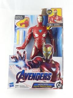 Figura Juguete Iron Man Luz Sonidos Avengers Endgame Ironman
