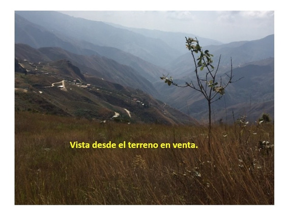 Venta De Terreno - Colonia Tovar Sector Potrero Escondido