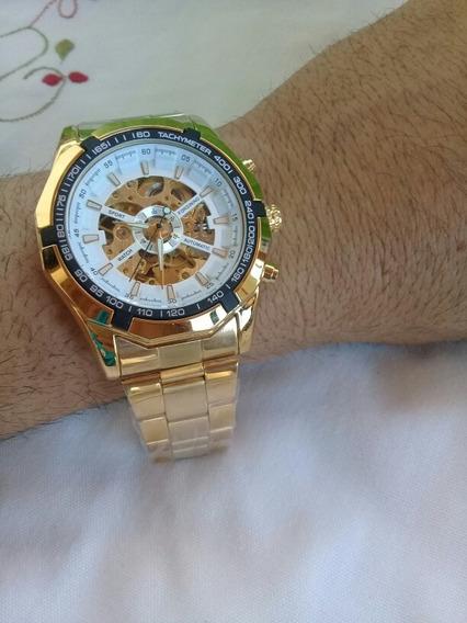 Relógio Automático Luxo Original Ostentação Envio Em 24hora