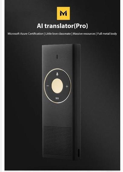 Tradutor Inteligente Xiaomi Moyu Smart Pro Mecanismo Traduçã