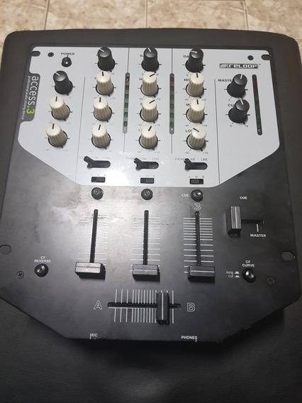 Mixer Reloop Access 3 Dj Mixer Mix Cdj