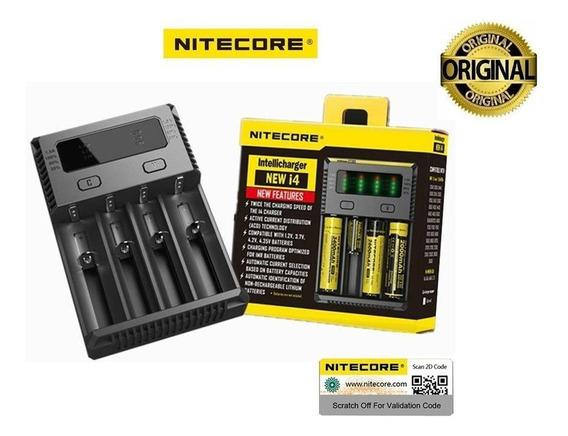 Carregador Digital Niticore New I4 (p/pilhas/baterias) Vape