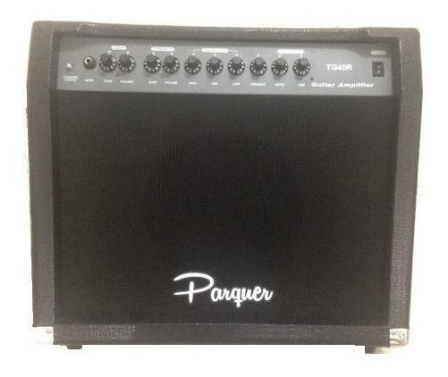 Amplificador De Guitarra Parquer 40w Overdrive Y Delay Cuota
