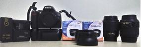 Nikon D40, Lente Af-s 18-55mm E Af-s 55-200mm