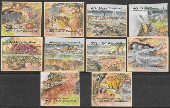 Fauna Marina - Nueva Zelanda - Serie Autoadhesiva