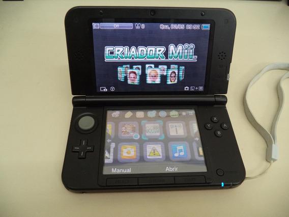 Nintendo 3ds Xl Red + 4 Jogos Originais