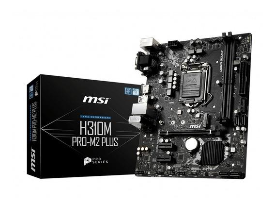 Placa Mãe Msi H310m Pro-m2 Plus (chipset Intel)