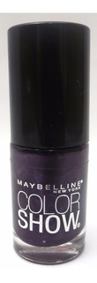 Esmalte Maybelline Color Show 7ml Cor: 185 Deep In Violet