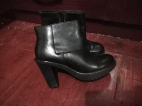 Botines Gacel En Excelente Estado, Color Negro # 37