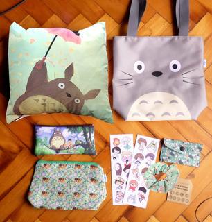 Set Especial Para Regalo Anime Mi Vecino Totoro Oferta Ghibl