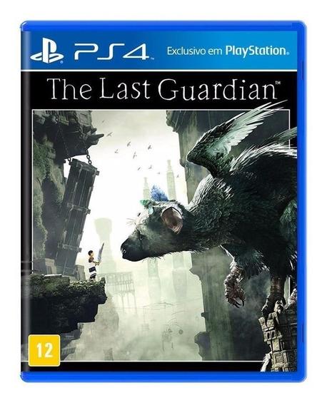 Jogo The Last Guardian Mídia Física - Ps4