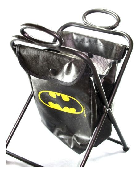Porta Treco Portátil Temático Dc Batman Super Heróis