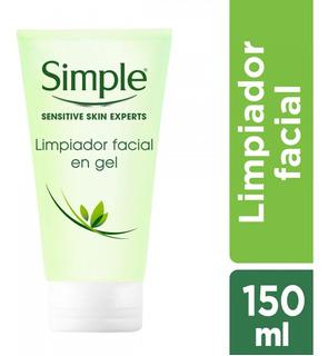 Limpiador Facial Simple Gel Refrescante 150 Ml