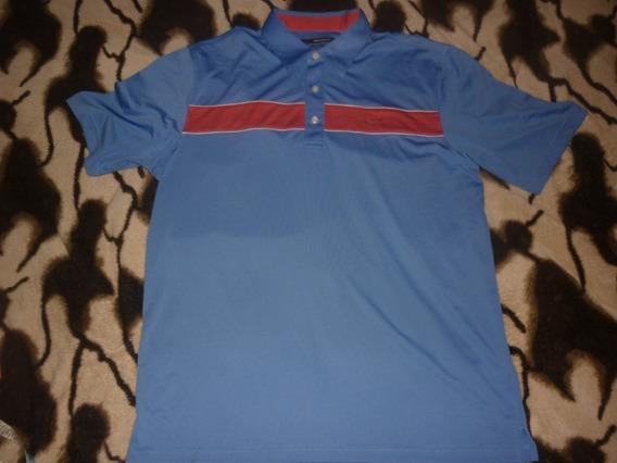 L Chomba Golf Greg Norman Talle L Azul Rojo Art 62869