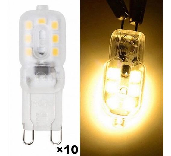 Bulbos Do Diodo Emissor De Luz De 10pcs 4w 300lm 3000k