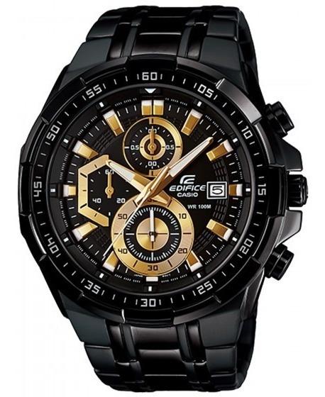 Relógio Casio Efr-539bk-1avudf Edífice Masc Preto- Refinado