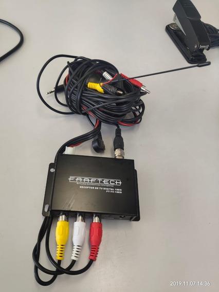 Receptor De Tv Digital Carro Ft-tv-1seg Faaftech