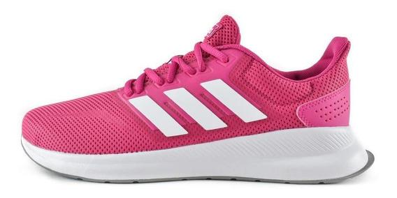 Tenis adidas Run Falcon - Rosa - Mujer - F36219