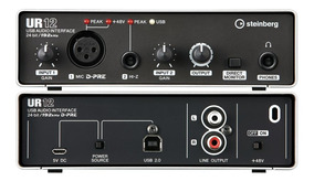 Interface De Áudio Steinberg Ur12 Yamaha Usb 2.0 Audio Midi