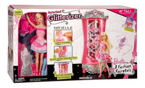 Barbie Glitterizer Moda Mágica