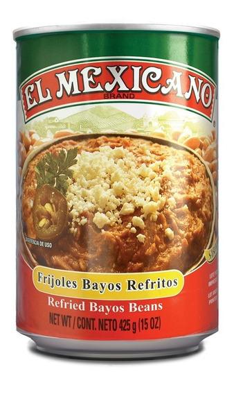 Frijol Refrito Claro El Mexicano 425 Grs