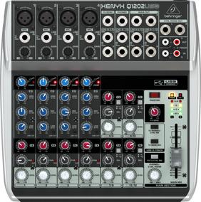 Mesa De Som Behringer Xenyx Q1202usb Mixer + Nf + Garantia