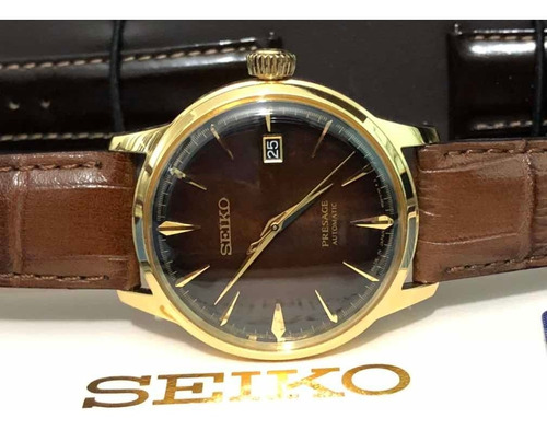 Seiko Presage Coquetel The Old Fashioned Automático Srpd36j1