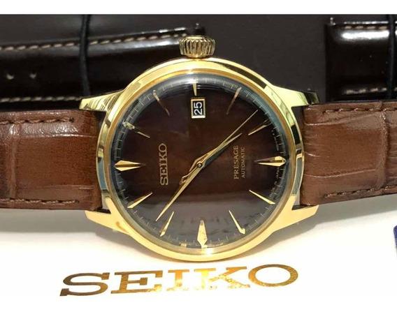 Seiko Presage Coquetel The Old Fashioned Automático Srpd36j1