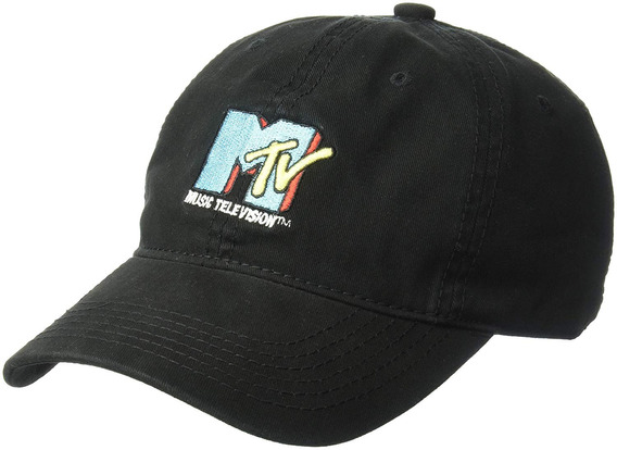 Mtv Gorra De Béisbol Para Hombre, Con Logotipo De Core, Colo