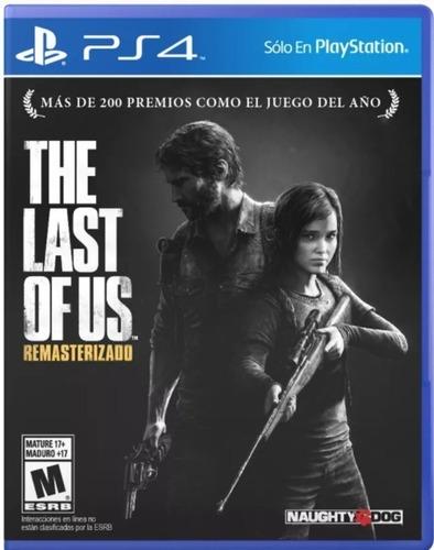 Juego The Last Of Us Remastered Ps4 Fisico Original