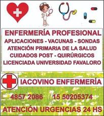 Enfermera Inyecciones Enfermeria A Domicilio Vacunas Sondas