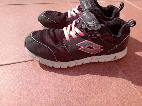 Zapatillas Lotto Niña Talle 34