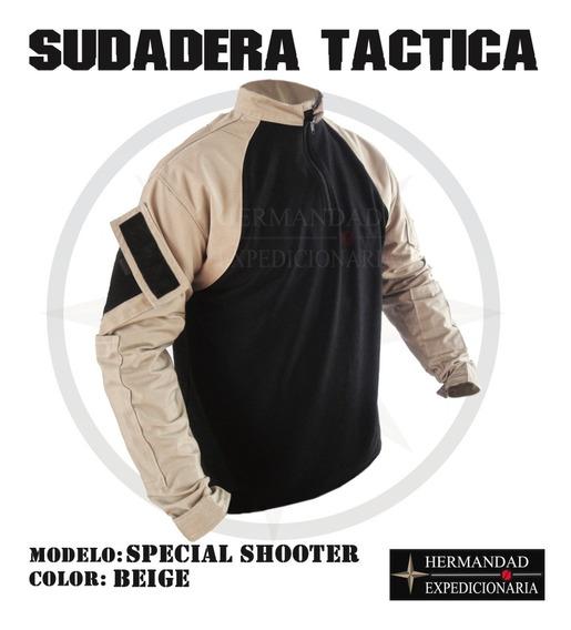 Sudadera Tactica Policial Beige