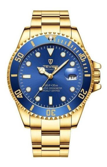 Relógio Masculino Clássico Automático.
