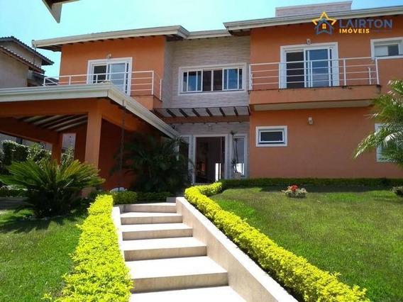 Bela Casa Com 4 Suítes À Venda, 1000 M² Por R$ 1.500.000 - Jardim Colina Do Sol - Bom Jesus Dos Perdões Sp - Ch1258