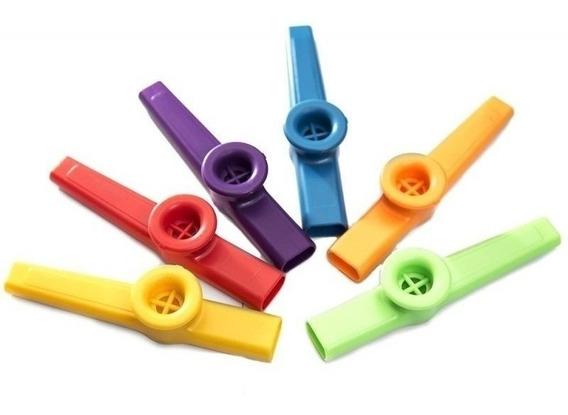 Kazoo Stagg De Plastico Varios Colores Dos Registros