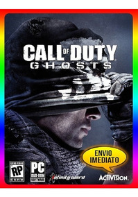Call Of Duty Ghosts Pc - 100% Original Steam Key (envio Já)