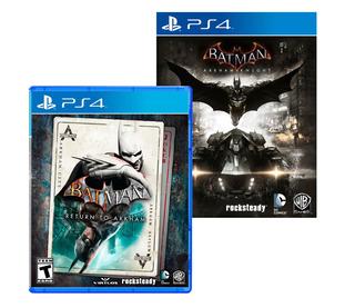 Batman Arkham Night + Batman Return To Arkham Ps4