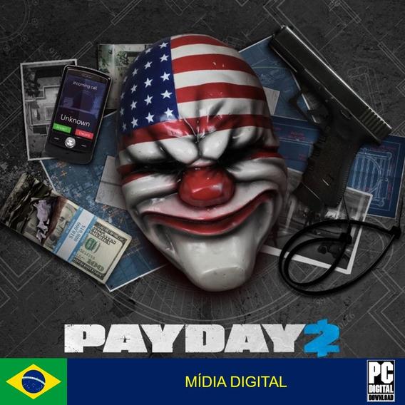 Payday 2 Pc Original Envio Digital Imediato!