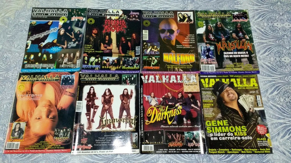 Revista Valhalla / Immortal, Dimmu Borgir, Krisiun, Soufly