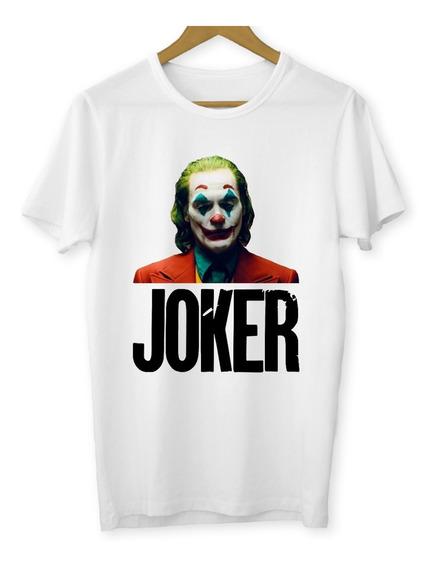Camiseta Coringa Baby Look Joaquin Phoenix Joker 2019