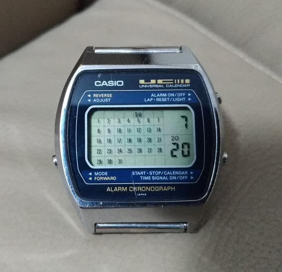 Casio Qs-39 1980 Universal Calendar Rarissímo P/colecionador