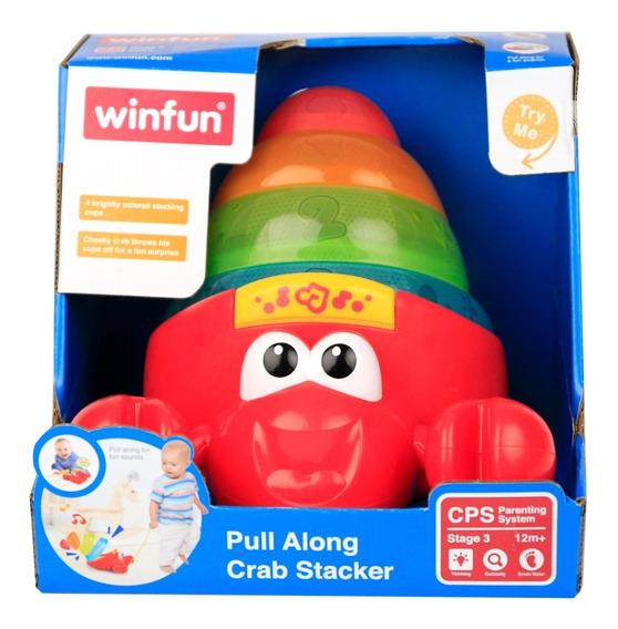 Brinquedo Caranguejo Copos Empilháveis Luz E Som 747 Winfun